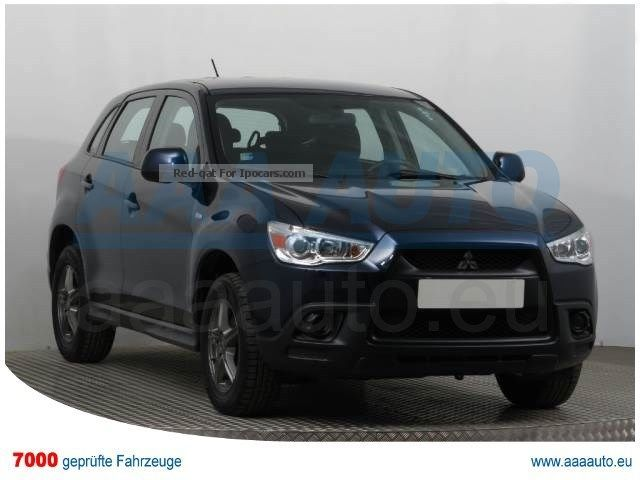 2010 Mitsubishi  ASX 1.6 MIVEC 2010 1.HAND, SCHECKHEFT, AIR Off-road Vehicle/Pickup Truck Used vehicle ( Accident-free ) photo