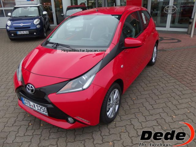 2014 toyota aygo x-play touch 1.0 - car photo and specs