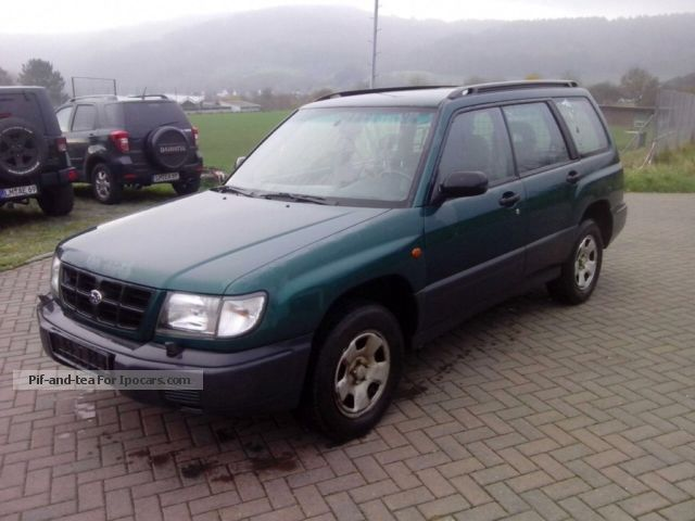 1999 Subaru  Forester Estate Car Used vehicle( Accident-free) photo