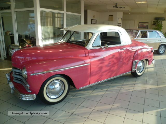 Plymouth  P20 SPECIAL DELUXE COUPE 1950 3-course 1950 Vintage, Classic and Old Cars photo