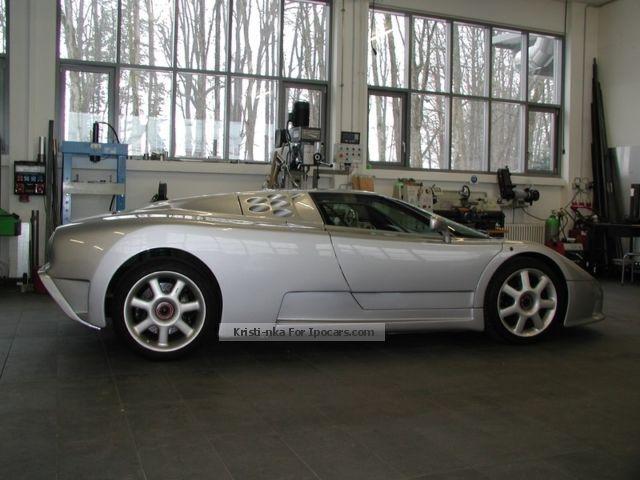 1998 Bugatti Eb 110 Gt Ex Bugatti Spa Factory Cart