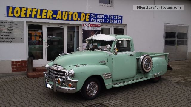 GMC  Pic Up 100 6Zyl.R from Fersehserie \u0026 quot; off to bed \u0026 quot; 1954 Vintage, Classic and Old Cars photo