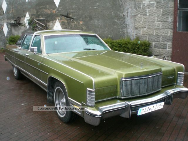 1975 Lincoln  Town Car H-approval, Big Block Saloon Classic Vehicle photo