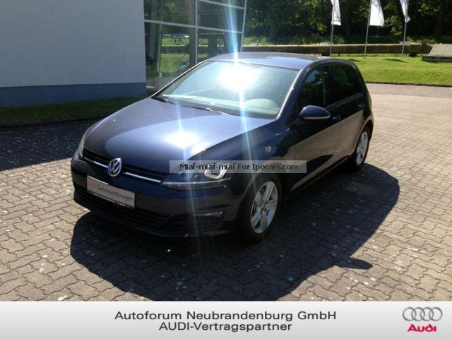 2013 Volkswagen  Golf Comfortline 1.4 TSI BlueMotion DSG Xenon Ma Saloon Used vehicle ( Repaired accident damage ) photo