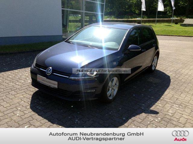 2013 Volkswagen  Golf Comfortline 1.4 TSI BlueMotion DSG Xenon Ma Saloon Used vehicle( Repaired accident damage) photo