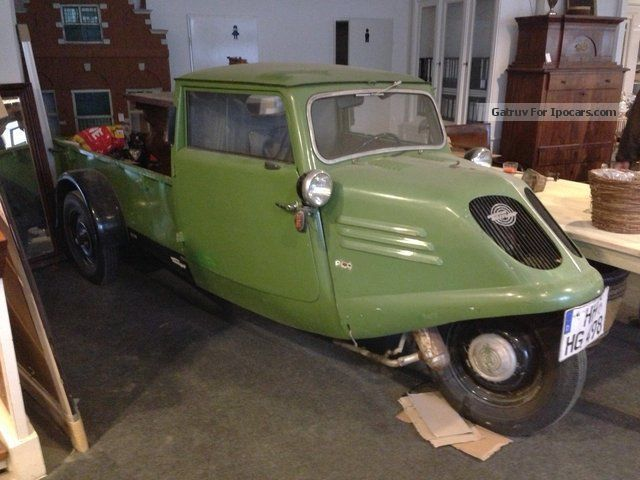 Other  Tempo A400 tricycle 1939 Vintage, Classic and Old Cars photo