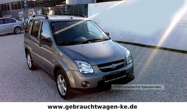 2006 suzuki ignis 1 3 4x4 warranty climate alu zv car photo and specs. Black Bedroom Furniture Sets. Home Design Ideas