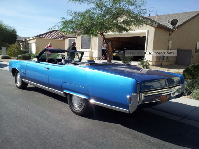 Oldsmobile  98 Big Block convertible! 64,000 mls! Top condition! 1969 Vintage, Classic and Old Cars photo
