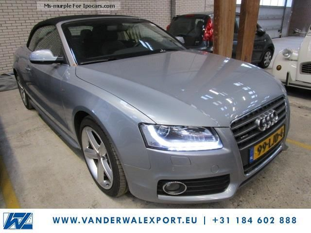 2012 Audi  A5 Cabriolet 2.0 Quattro Tiptronic 155kW TFSi 2x- S Cabriolet / Roadster Used vehicle ( Accident-free ) photo