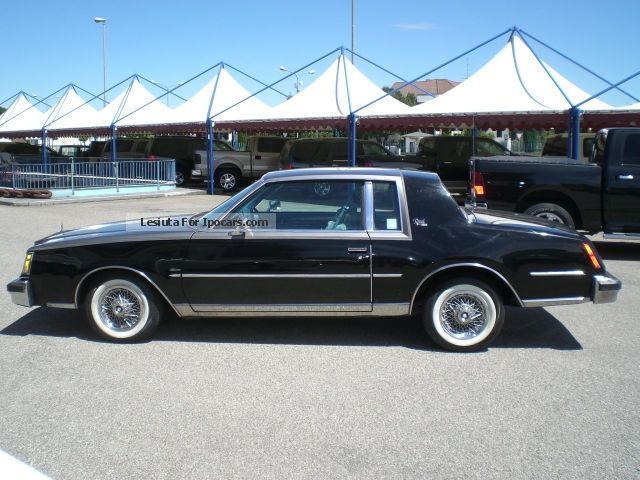 1979 Buick Regal V8 Limited Car Photo And Specs