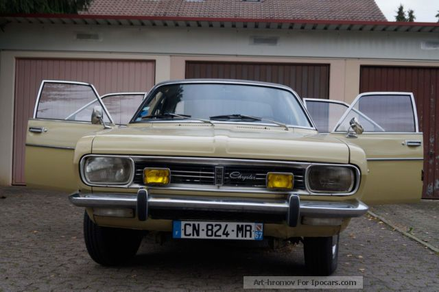Talbot  Simca 160, Maintained vintage seeks buyer 1974 Vintage, Classic and Old Cars photo