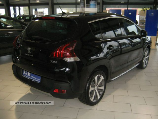 2014 peugeot 3008 hdi 150 allure car photo and specs. Black Bedroom Furniture Sets. Home Design Ideas
