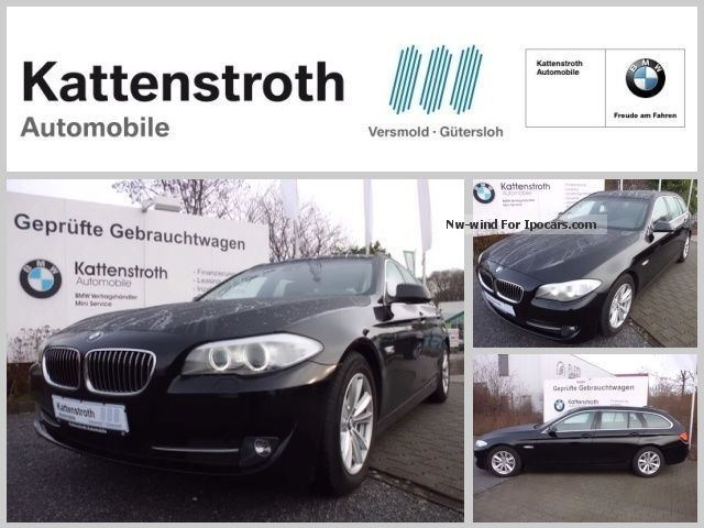 2010 BMW  525d F11 panoramic tour NaviProf Xenon Speed Limit Estate Car Used vehicle( Accident-free) photo