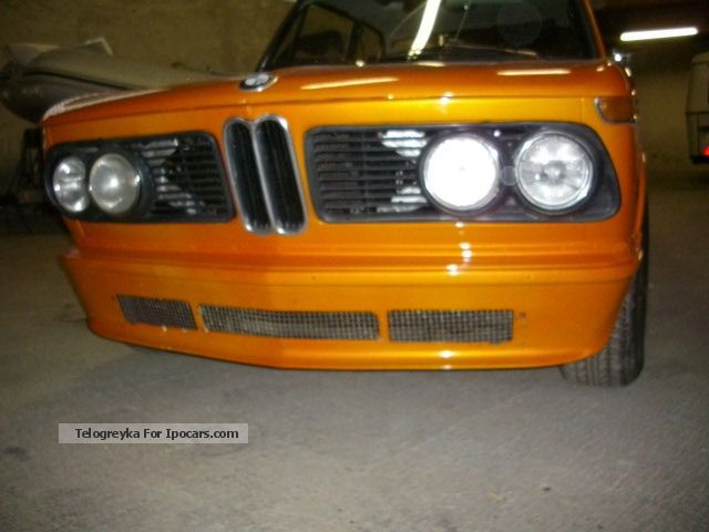 BMW  2002 tii H indicator 1971 Vintage, Classic and Old Cars photo