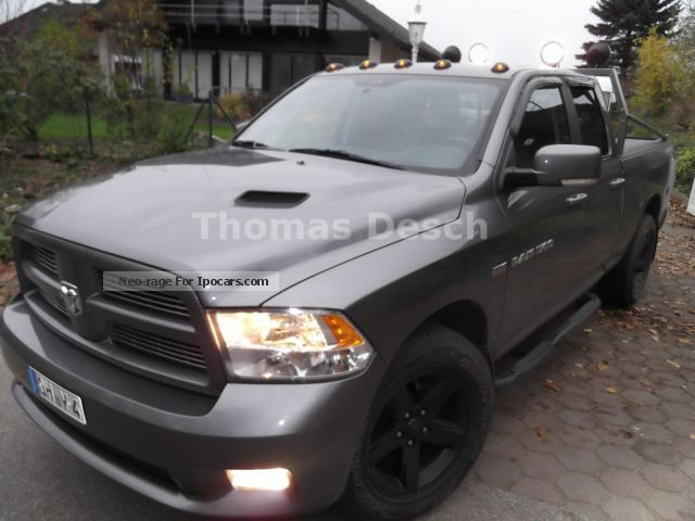 Dodge  RAM Quad Cab Sport LPG / leather / glass roof / Sitzhzg 2013 Liquefied Petroleum Gas Cars (LPG, GPL, propane) photo