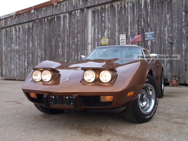 Corvette  Stingray V8 \u0026 quot; Coke Bottle \u0026 quot; very clean 1975 Vintage, Classic and Old Cars photo