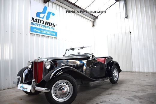 MG  TD Completely Restored! 1953 Vintage, Classic and Old Cars photo