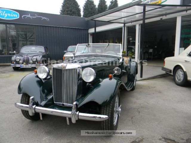 MG  TD 1957 Vintage, Classic and Old Cars photo