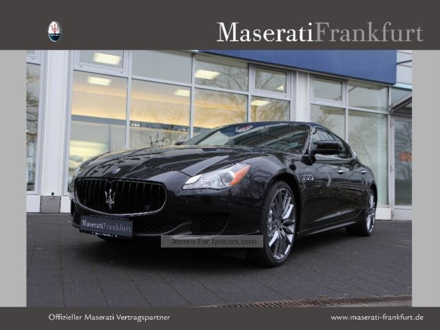 2015 Maserati  Quattroporte S Q4 automatic Saloon Demonstration Vehicle ( Accident-free ) photo