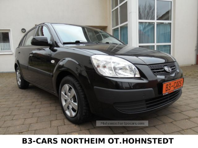 2009 Kia  Rio 1.4 Attract ** 1 HAND * MAINTAINED * EURO 4 * AIR ** Small Car Used vehicle( Accident-free) photo