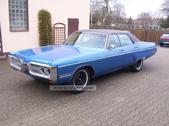 Plymouth  Fury III with MOT and H - Admission 1972 Vintage, Classic and Old Cars photo