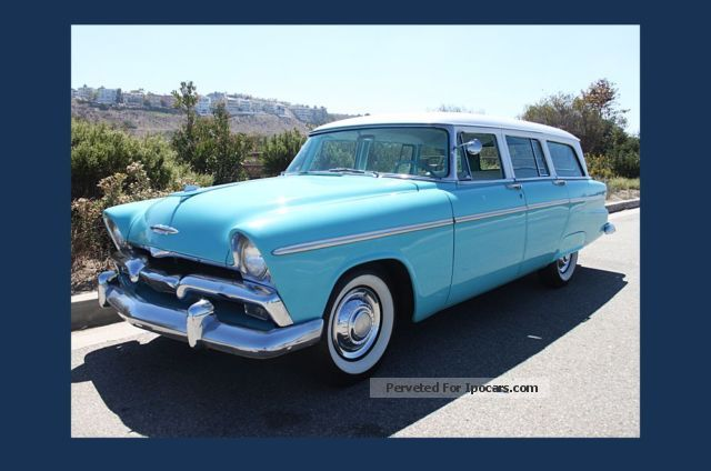 1955 Plymouth  Belvedere Wagon 1955 MOT \u0026 amp; H-Perm. New Stainless Estate Car Classic Vehicle ( Accident-free ) photo