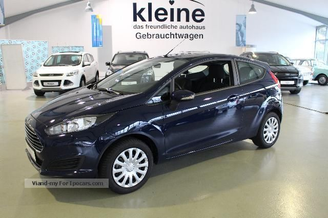 2013 Ford  Fiesta 1.25L trend AIR CD-MP3 Saloon Used vehicle( Accident-free) photo