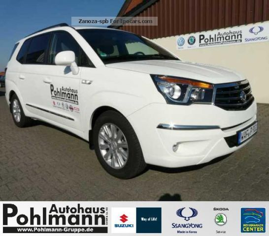2013 Ssangyong  Rodius Sapphire 2WD Diesel / leather / 7 seats / Alu / GR Van / Minibus Used vehicle ( Accident-free ) photo