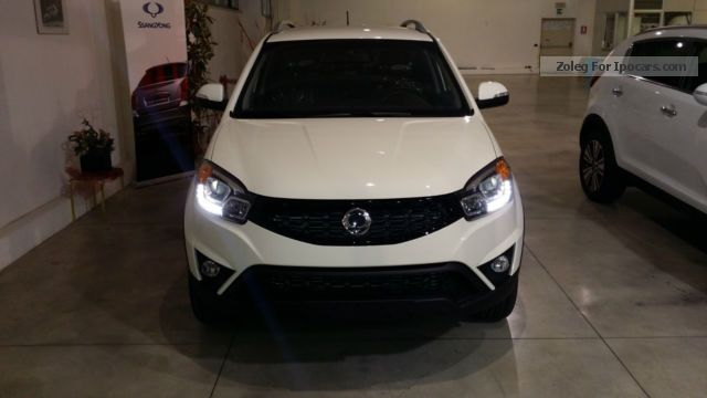 2015 Ssangyong  Korando 2.0 Plus bi-fuel GPL Off-road Vehicle/Pickup Truck Used vehicle photo