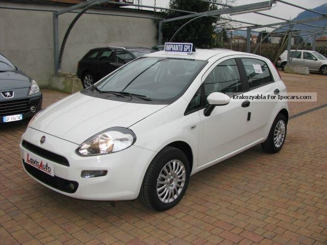 2012 fiat punto 1 4 8v 5 porte easy power street gpl car for Porte type saloon