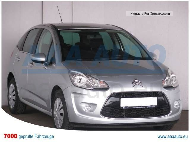 2011 Citroen  C3 1.4 I 2011, 1.HAND, SCHECKHEFT, AIR Small Car Used vehicle ( Accident-free ) photo