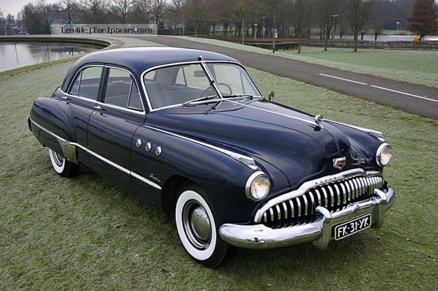 Buick  Super Eight Sedan 1949 - Fireball 8 1949 Vintage, Classic and Old Cars photo
