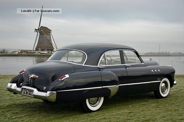 1949 Buick Super Eight Sedan 1949 Fireball 8 Car