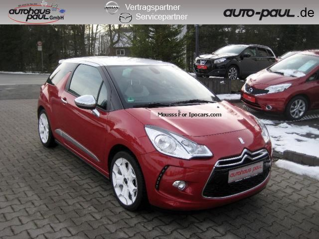 2013 citroen citro n ds3 1 6 thp 155 sport chic leather shz car photo and specs. Black Bedroom Furniture Sets. Home Design Ideas