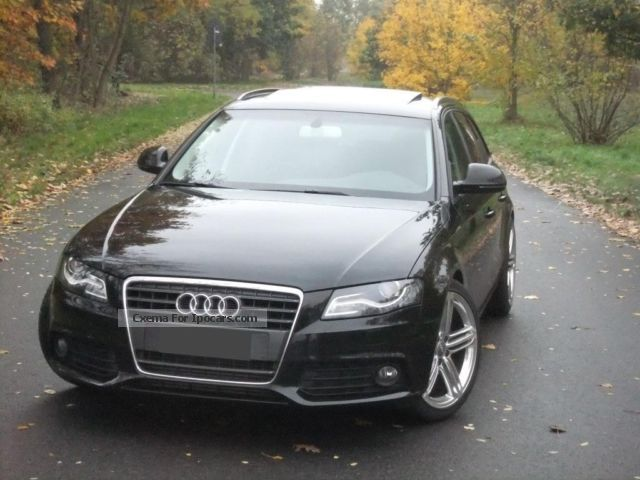 2009 Audi  A4 2.7TDI Av Navi, leather, Sthz, Pano, NP approx 56T € Estate Car Used vehicle ( Accident-free ) photo