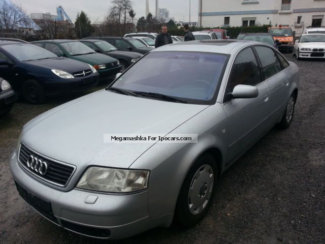 1997 Audi  A6 1.8 Turbo, Hu / Au 10/2015, solar roof Saloon Used vehicle photo