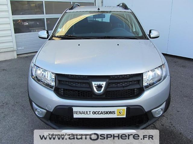 2014 dacia sandero stepway 1 5 dci90 ambiance eco car photo and specs. Black Bedroom Furniture Sets. Home Design Ideas