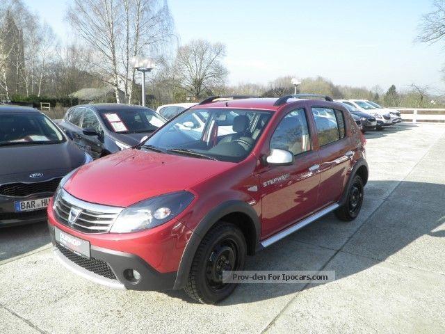 2012 Dacia  Sandero Stepway II Winter wheels PDC leather AHZV Saloon Used vehicle photo