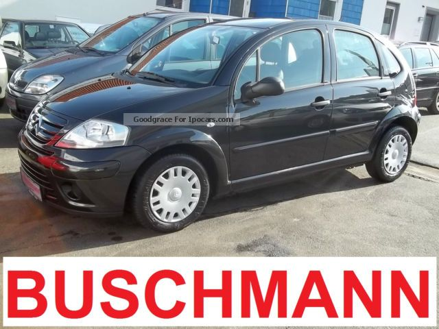 2009 Citroen  C3 1.4 - 1.Hand - Air Conditioning - CD - TÜV NEW Small Car Used vehicle( Accident-free) photo