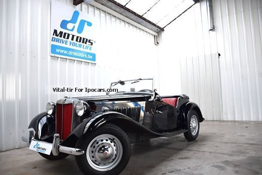 MG  TD Restored! MATCHING NUMBERS! 1953 Vintage, Classic and Old Cars photo