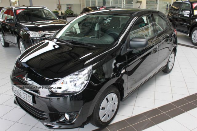 2012 Mitsubishi  Space Star Classic Collection 5 years warranty Small Car New vehicle photo