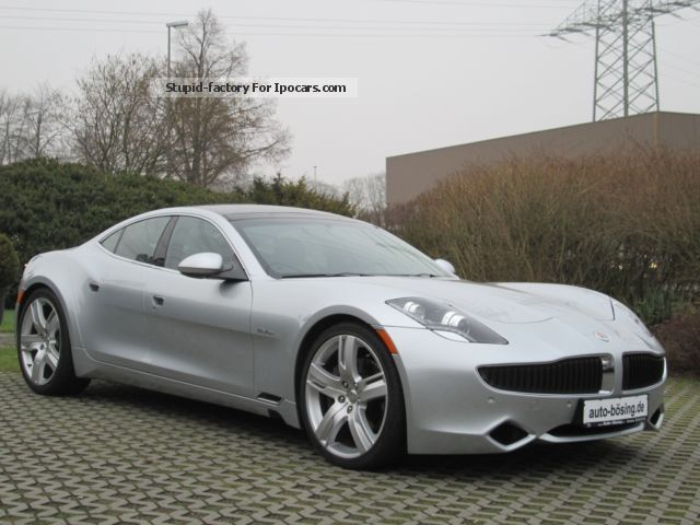 Fisker  Karma Ecochic Navi-Xenon Leather Camera 2014 Hybrid Cars photo