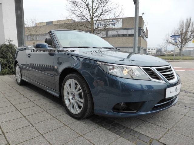 2012 saab 9 3 convertible vector air leather aluminum top condition car photo and specs. Black Bedroom Furniture Sets. Home Design Ideas