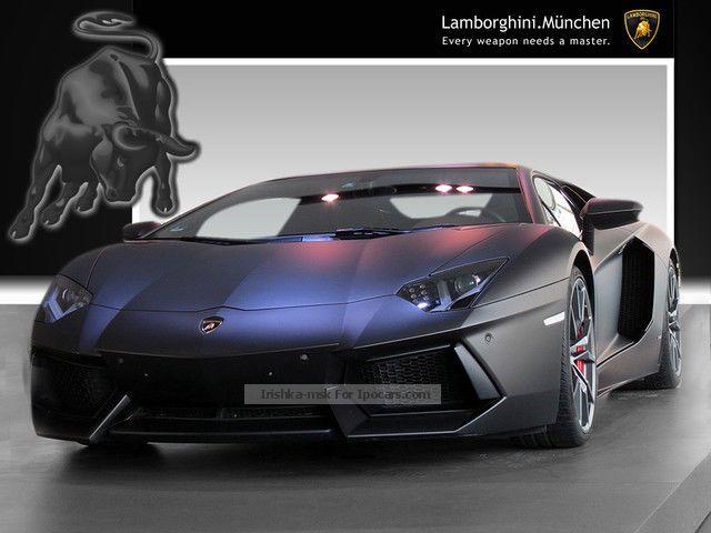 2014 Lamborghini  Aventador LP700-4 AIR LEATHER SHZ PDC XENON NAVI Sports Car/Coupe Used vehicle photo