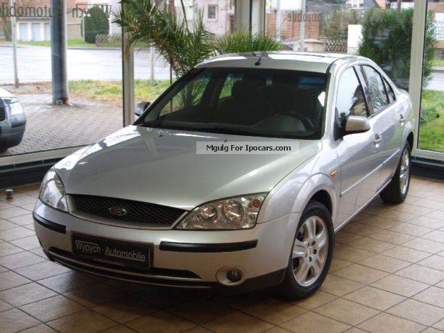 2002 Ford  Mondeo Sedan. 2.0 TDCI Ghia TÜV * NEW * Saloon Used vehicle photo
