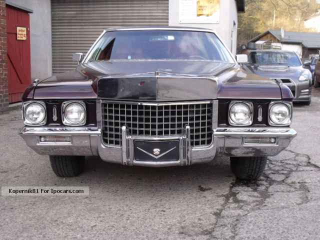 Cadillac  Fleetwood show vehicle 1971 Vintage, Classic and Old Cars photo