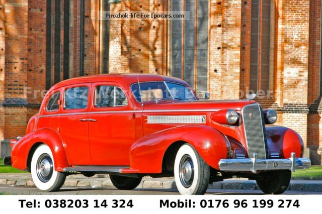 Cadillac  Series 60 Special 1937 V8 4 Door Oldtimer 1937 Vintage, Classic and Old Cars photo