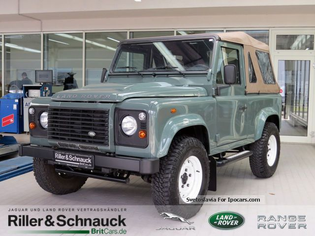 2012 Land Rover  Defender 90 TD4 S Cabriolet AIR LEATHER SHZ AHK Off-road Vehicle/Pickup Truck Used vehicle photo