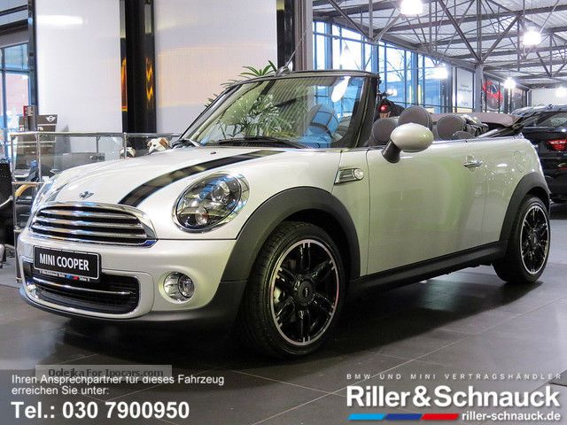 2015 MINI  Cooper Convertible Highgate SPORT SEAT LEATHER NAVI XENO Cabriolet / Roadster Demonstration Vehicle photo