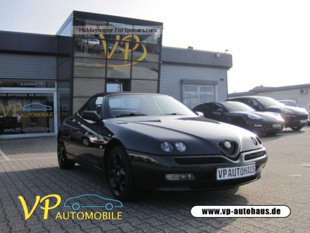 2002 Alfa Romeo  Spider 2.0 Twin Leather Cabriolet / Roadster Used vehicle ( Accident-free ) photo